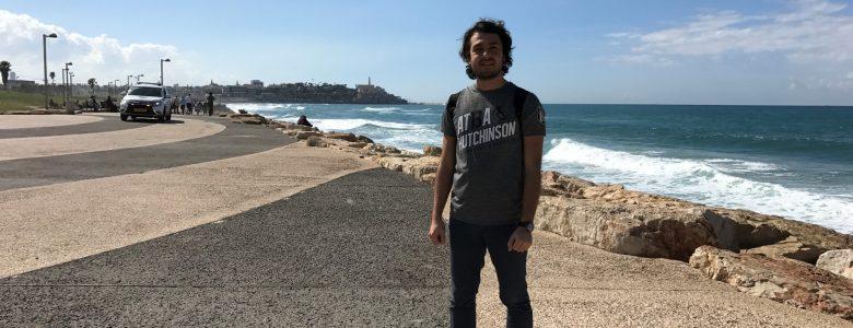 Tel Aviv'de Ben :)