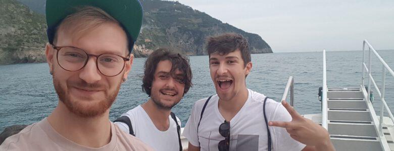 Erasmus Arkadaşlarımla Cinque Terre Gezisindeyiz :)